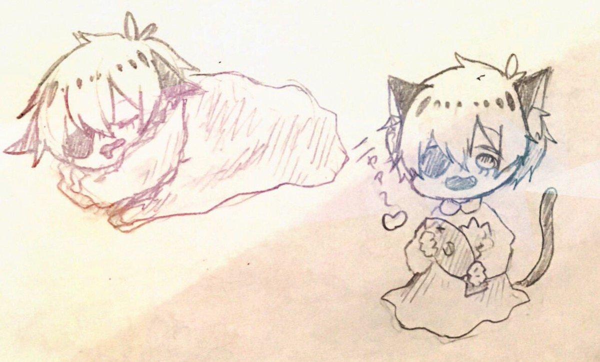 きなこもちちゃんに描いて〜って言われたにゃんぼーさん💕いいね!!みんなにゃんぼーさん描こう😎✨✨#ヨシヅキにゃんぼー#ヨ