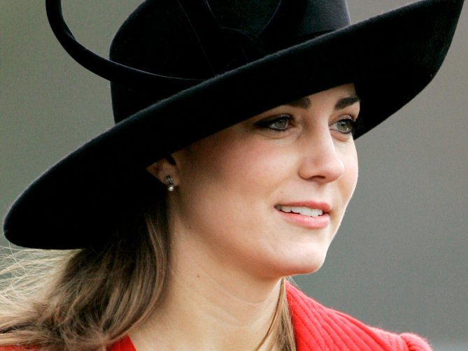 Look back at Kate Middleton through the years: