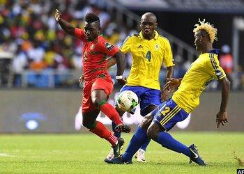Hosts Gabon held by Guinea-Bissau