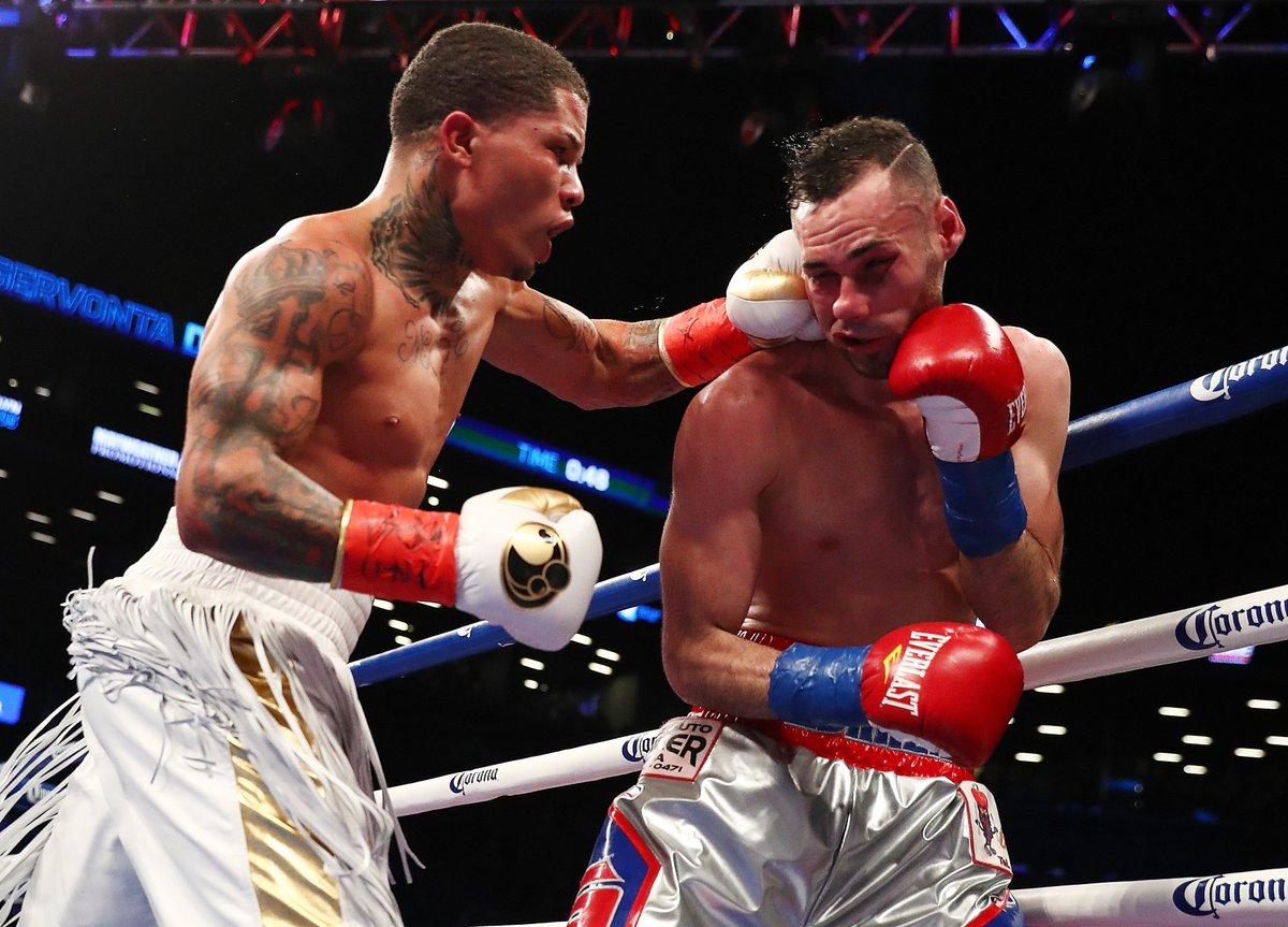 Baltimore's Gervonta Davis stops Jose Pedraza to win the junior lightweight boxing title. https://t.co/kutw2kXG2d https://t.co/CoU80UFgqC