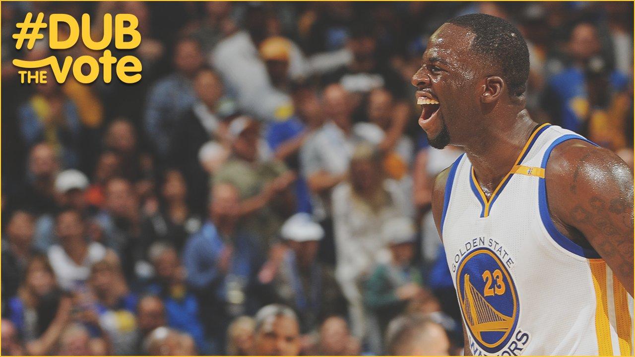 RT to #NBAVote for Draymond Green ⭐️ #DubTheVote https://t.co/h0JlWbrj3q