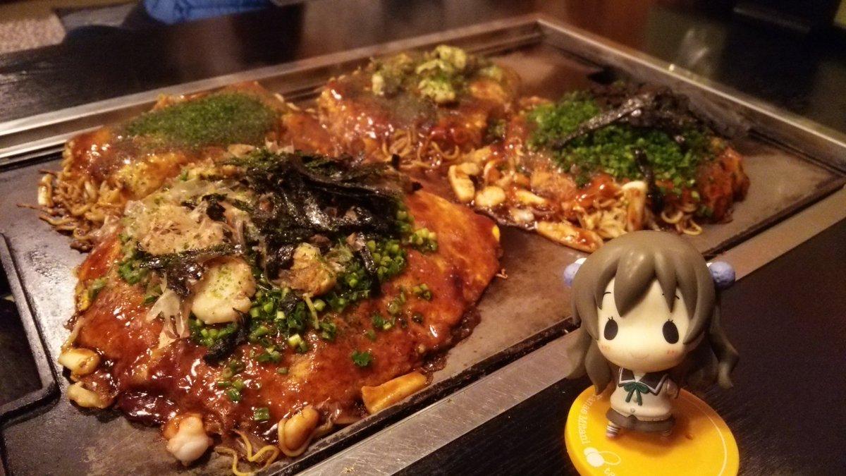 かやのん(が食べた、シーフードスペシャル牡蠣ネギのせ、そばはトリプルで)をいただきます♪ヽ(´▽`)/#tamayura