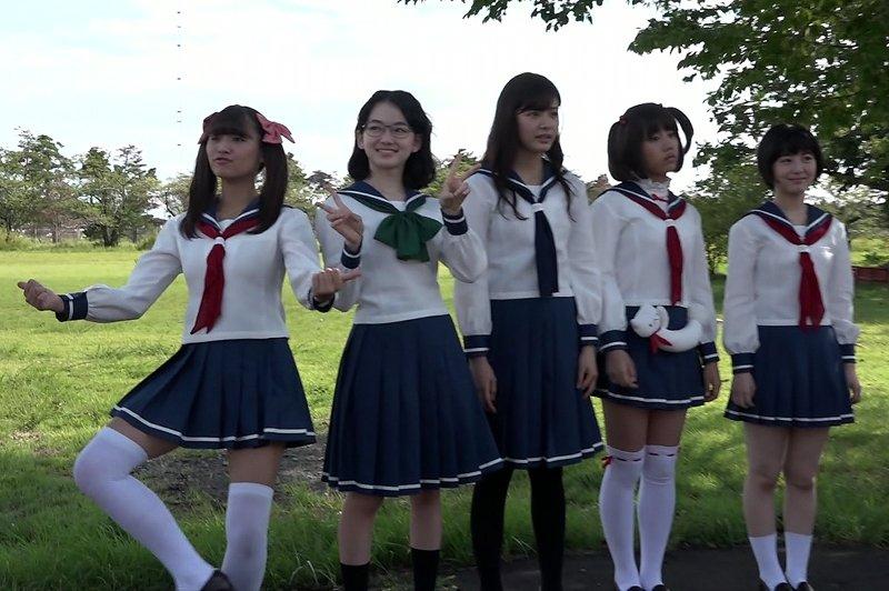 コープス見終わったから、次に実写 咲-Saki-のメイキング見てるけど、このカットだけで10分は笑っていられる。