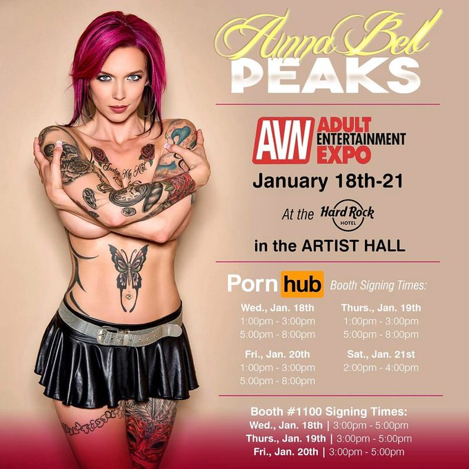 Want to meet me live and in person!!?? Find me at the @AEexpo @avnawards at the official @Pornhub booth