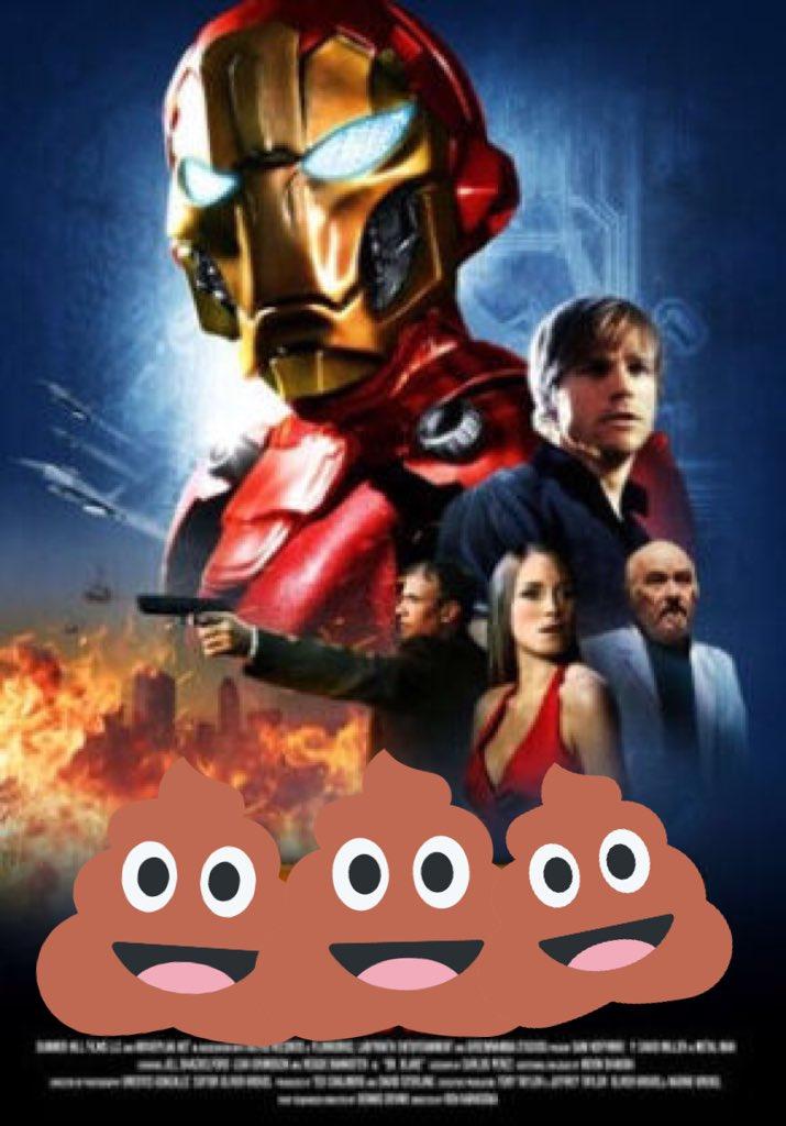 「アイアンマンが酔って吐いたゲロに宇宙刑事ギャバンとショッカーライダーの糞尿を混ぜ合わせて錬成したクソ映画界のミュータン