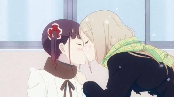桜トリックで一番好きなキスシーンも雪の日なんだよなあ#桜trick#ことしず