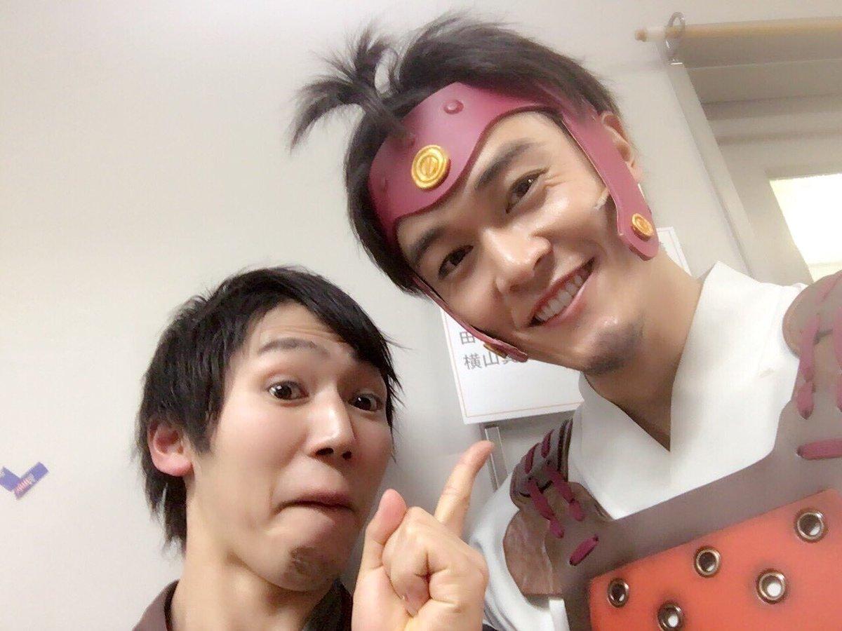 #kabaneri 吉備土役の横さんとアンサンブルメンバーの写真をあげるの忘れてました!横さんとはプリステで二回目なのに