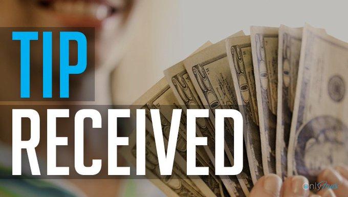 My #fan u1052 has just sent me a $100.00 TIP! https://t.co/h3hmxXXXyC https://t.co/vUOkGbJU01