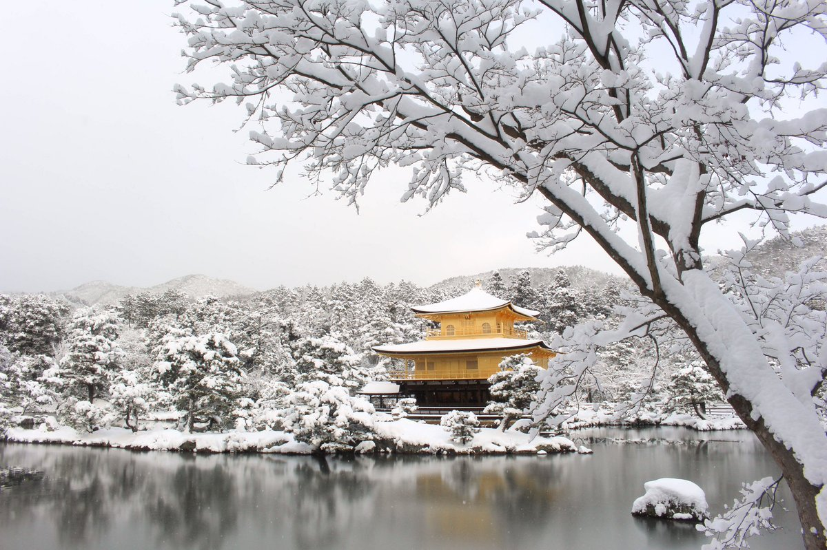 Espectaculares las fotos que me envía mi amigo @edumariz de #Kyoto y #Arashiyama totalmente nevados. #Japón https://t.co/rV0RwOV3rJ