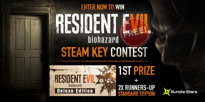 Win Resident Evil 7 Giveaway January 2017