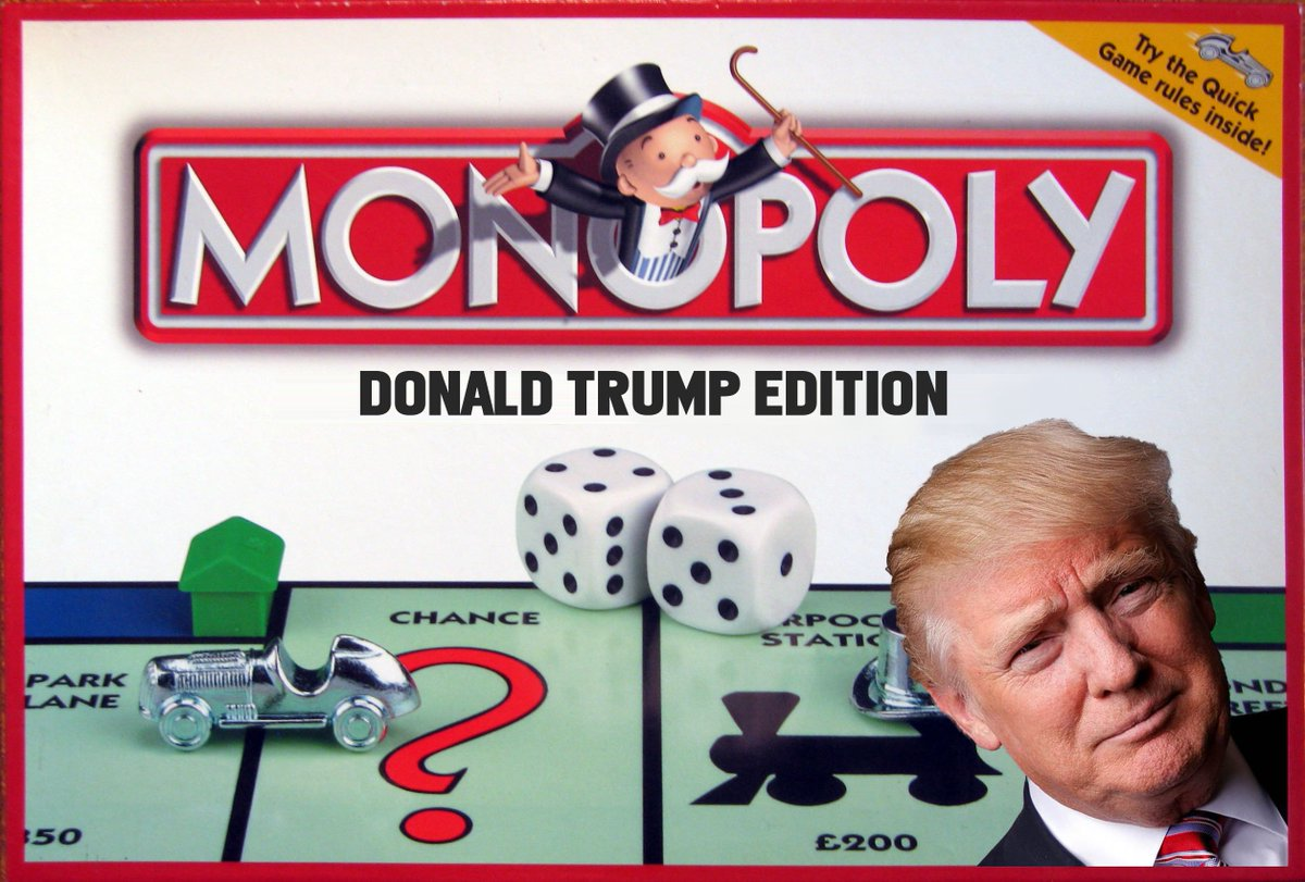 Image result for trump monopoly