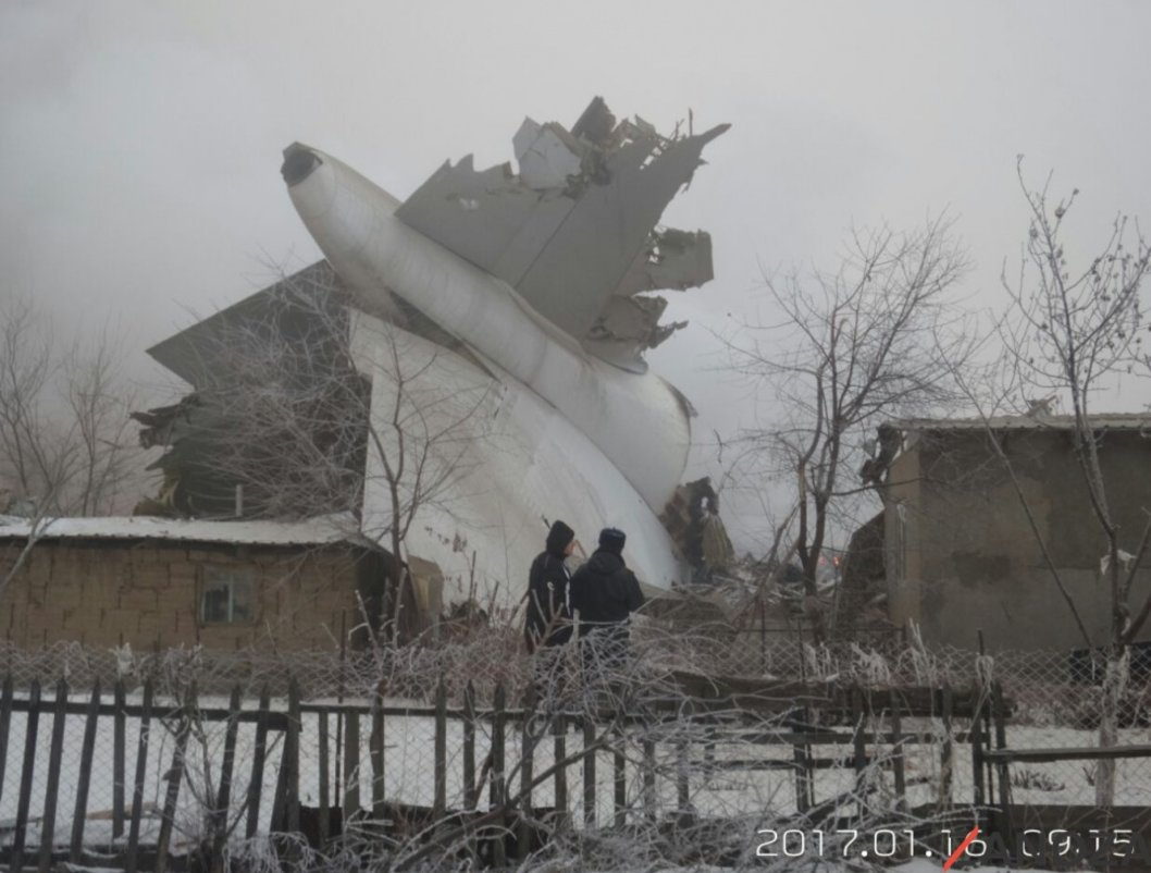 Photos of #TK6491 which appears to have crashed into homes. https://t.co/ruXKEgxv4i #aviation #Kyrgyzstan https://t.co/NqwnlNfDZp
