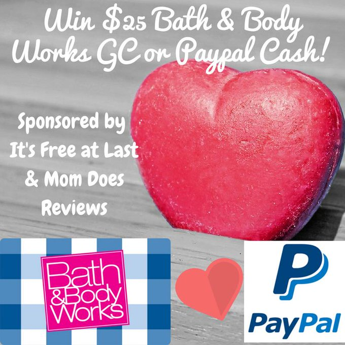 #win Bath & Body Works $25 Gift Card #giveaway
