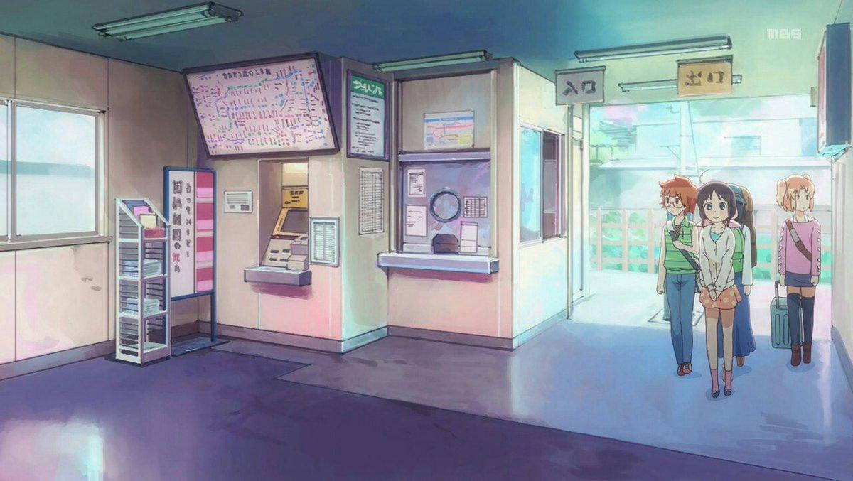 ステラのまほう第3話より劇中の園橋駅は色んな駅が合わさった形になっております。その一つである改札外からのシーンは東吾野駅