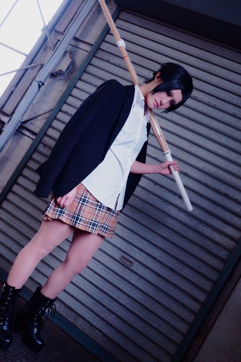 【監獄学園/別当リサ】極寒の中ちょいちゃんに撮ってもらった!ありがとうございます😭🙏photo: