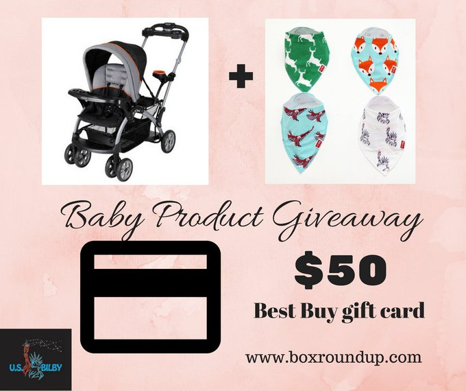 Baby Product Giveaway (1/26 US)