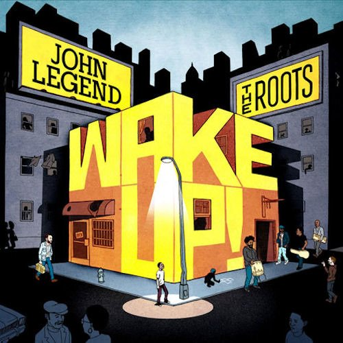 "【HIPHOP新入荷情報】JOHN LEGEND & THE ROOTS / WAKE UP!! ""ORANGE"