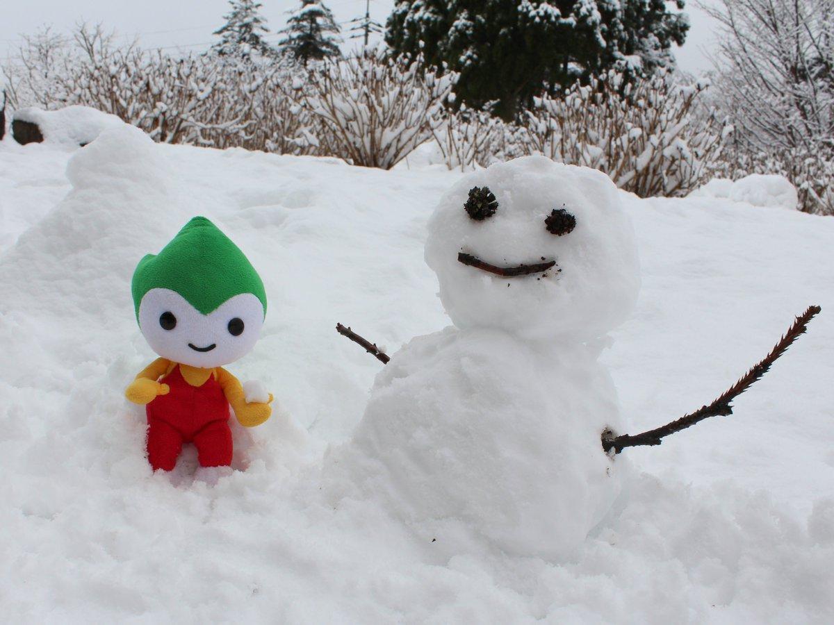 寒い日が続いちょるる。各地で雪が降っちょるけど、みんなの住んでいるところはどうかな?やまぐちでも雪が降ったけぇ、ちょるる