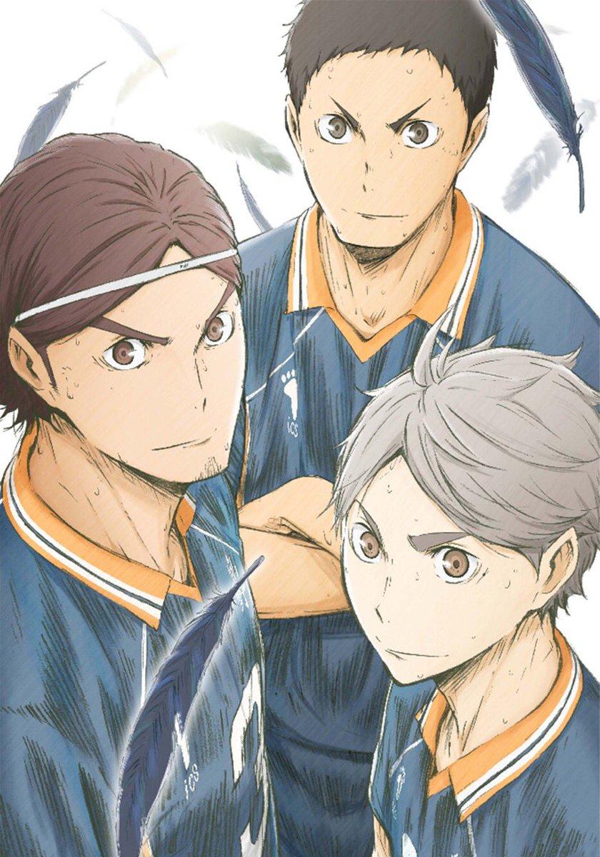 2月22日発売『ハイキュー!! 烏野高校 VS 白鳥沢学園高校』BD&DVD Vol.3ジャケット&展開