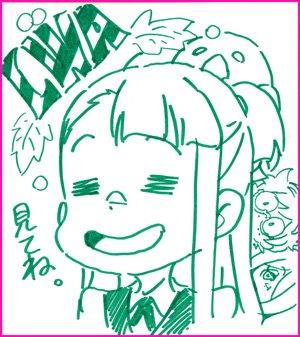 TVアニメ『リトルウィッチアカデミア』Twitterキャンペーン実施中!毎話の感想をハッシュタグ(#LWA感想)を付けて
