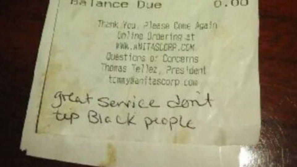 RickeySmiley : No tip? #really h