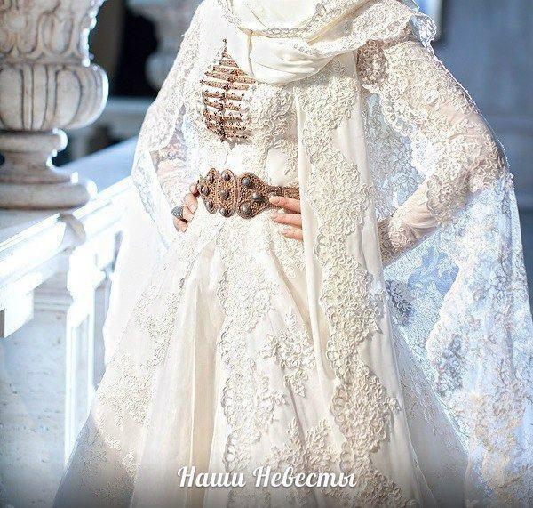 Карачаевские национальные свадебные платья