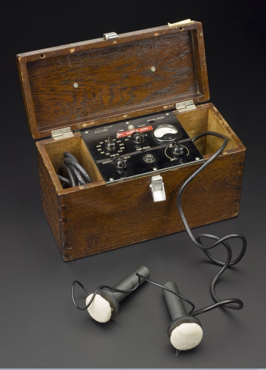 Electroconvulsive Therapy: A History of Controversy, but Also of Help https://t.co/sFWYewAV5F https://t.co/eTcOIRMEWB