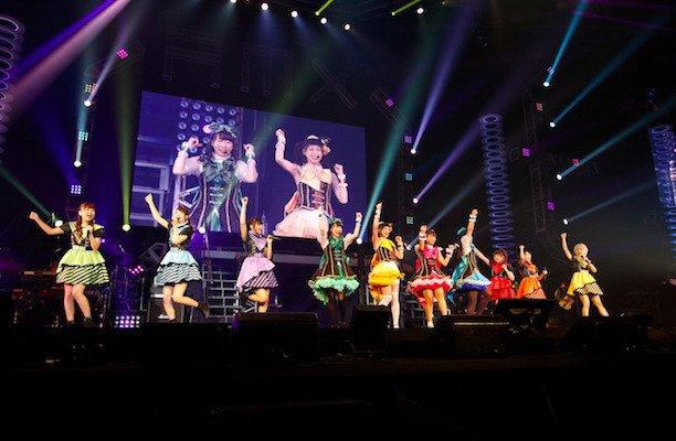 i☆Ris:大阪イベントでミルキィホームズとコラボ 「ガルパン」EDをカバー  #i_Ris  #ミルキィホームズ