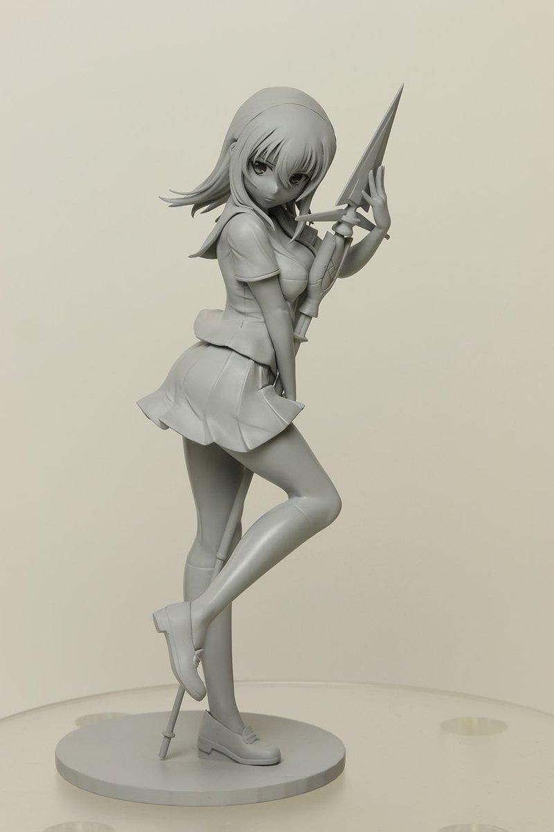ブログ更新いたしました。「ストライク・ザ・ブラッド」より姫柊雪菜の製作進行中です!!原型を公開致しましたので、要チェック