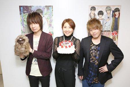 皆川純子さん、前野智昭さん、松岡禎丞さんが登壇したTVアニメ「SUPER LOVERS 2」Happy Winterイベ