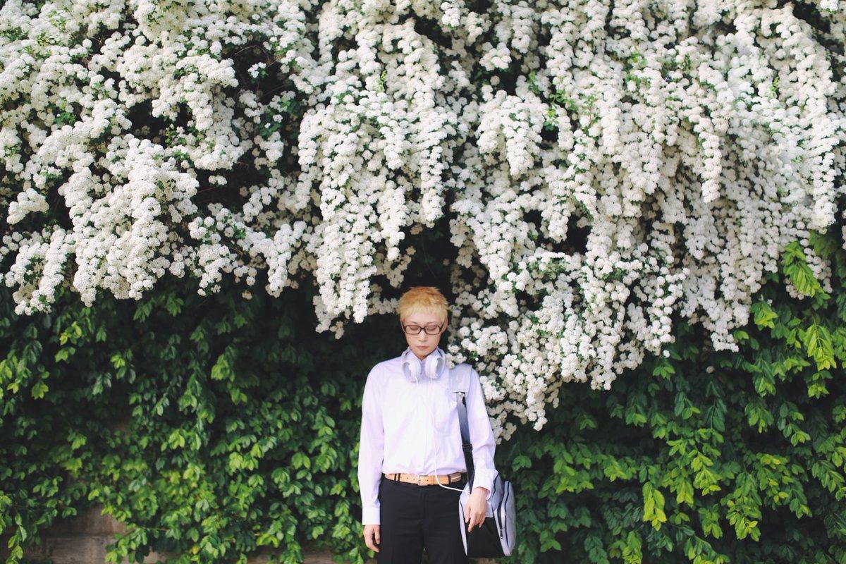 * 하이큐!! (ハイキュー‼︎)츠키시마 케이 (月島 蛍)같은장소에서, 봄과 겨울同じ場所で、春と冬P.b @_h