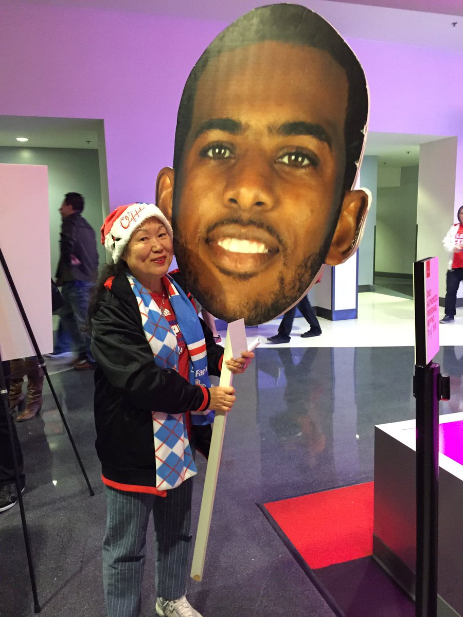 Last push to get our @LAClippers guys to the All Star Game. Chris Paul #NBAVote https://t.co/FOxo7RNd55