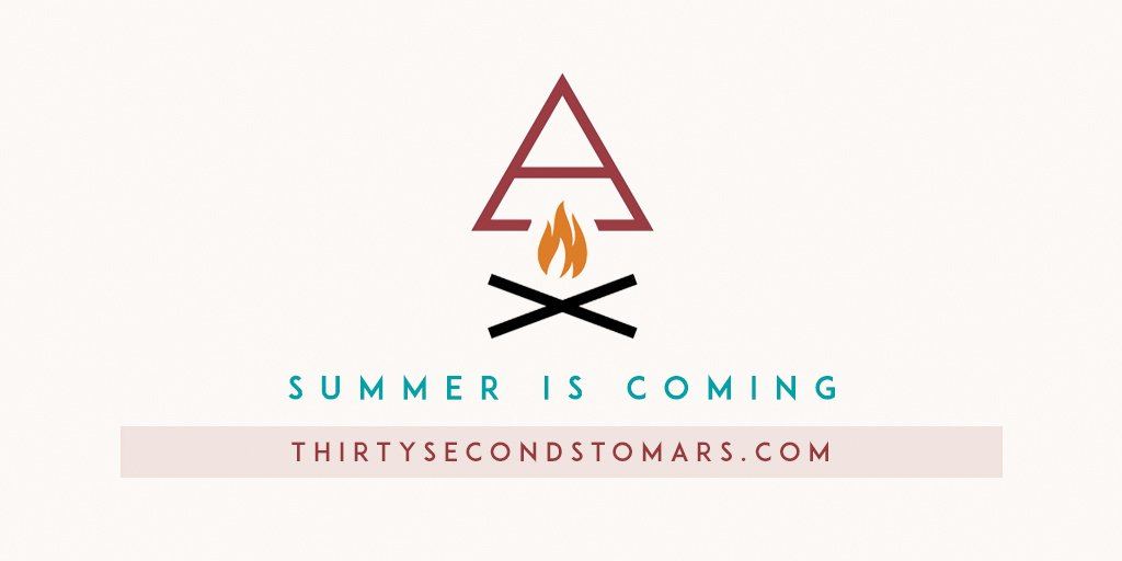 SUMMER IS COMING. https://t.co/vCOxP7JTiQ #CampMars #MarsIsComing https://t.co/3G9yfiajJT