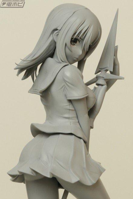 『ストライク・ザ・ブラッド』姫柊雪菜フィギュアがプルクラで企画進行中!原型写真を最速公開!!#ストブラ #ストライク・ザ