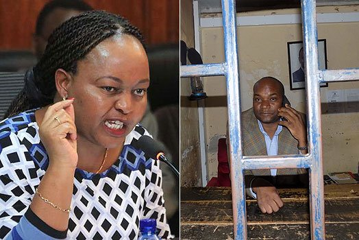 Drama as Waiguru's ally arrested at gunpoint for kidnapping woman