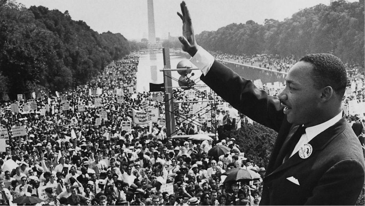 Remembering the incredible Martin Luther King Jr this #MLKday https://t.co/TMMYJPcybG