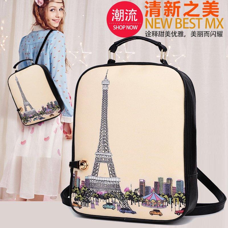 ⚡ US $11.32 printing backpacks female women bag #eiffel #tower #paris #graffiti http ...