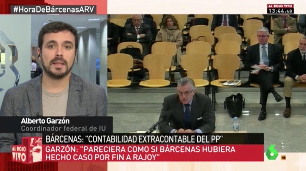 """Bárcenas y el PP tienen un pacto de silencio para protegerse. Ha empezado a hacer caso al """"Luis, sé fuerte"""" de Rajoy"""