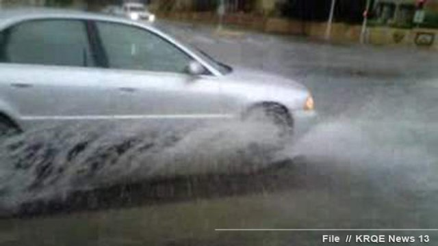 Powerful Texas storm delivers damaging winds, heavy rain