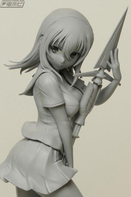 【昨日の話題】『ストライク・ザ・ブラッド』姫柊雪菜フィギュアがプルクラで企画進行中!原型写真を最速公開!!#ストブラ #