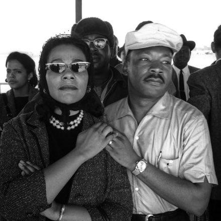 Coretta Scott King, longtime LGBT advocate. Let's continue the work. https://t.co/ELQQNuTtJ3
