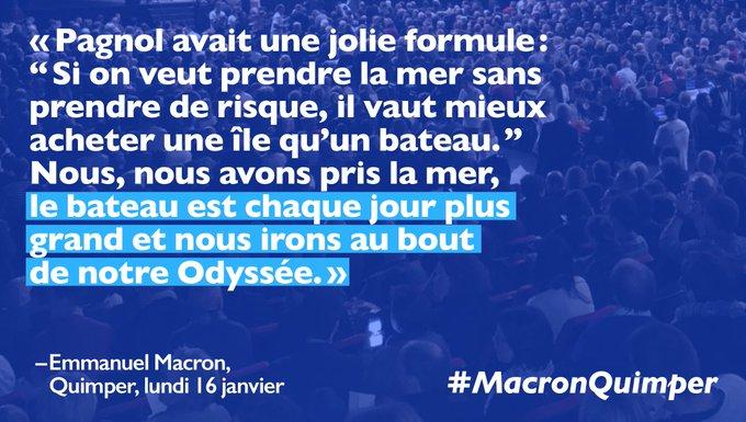 Nous irons au bout de notre Odyssée ! #MacronQuimper #EnMarche