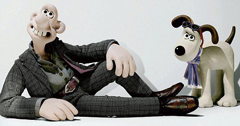 here's a picture of wallace and gromit modelling paul smith for good luck x https://t.co/mnreF5QEJb