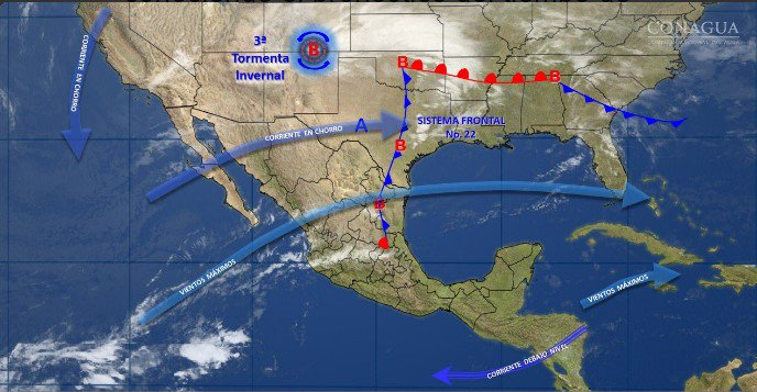 Tercera tormenta invernal sobre Baja California y Sonora https://t.co/DLveycnTU1 https://t.co/FdbxETTABI