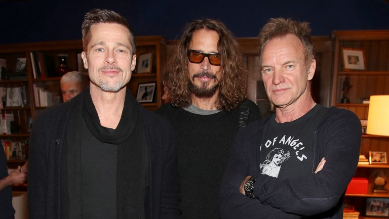 Inside the Rock4EB! fundraiser with Brad Pitt, Sting, chatty celebs and a worthy cause