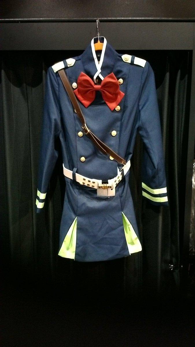 終わりのセラフより、日本帝鬼軍女子軍服衣装が入荷致しましたლ(´ڡ`ლ)#終わりのセラフ #kbooks