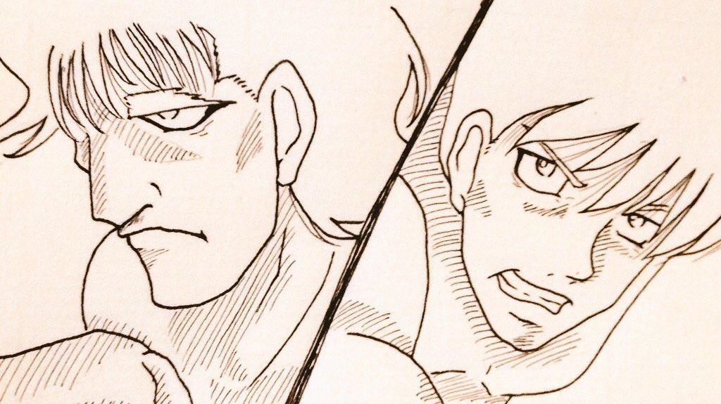 今日は大好きなはじめの一歩の作者森川ジョージさんのお誕生日。かっこいい男性をいつもありがとうございます千堂さんが大好きで