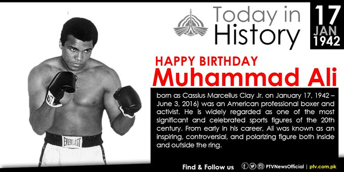muhammad ali a role model Washington, june 6, 2016 – for many black youth in the '60s and '70s, boxing was part of the life blood of growing up for those who lived in the urban or rural areas of america, listening to the r.