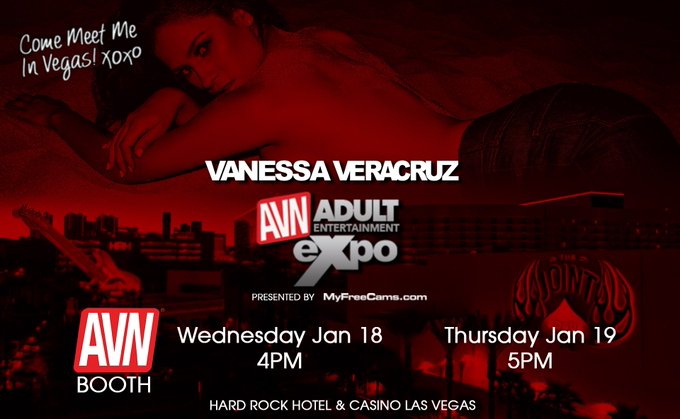 Excited to be a #AEE I'll be signing at the AVN Booth! Come say hello 💕 https://t.co/xpL5qDzwdl