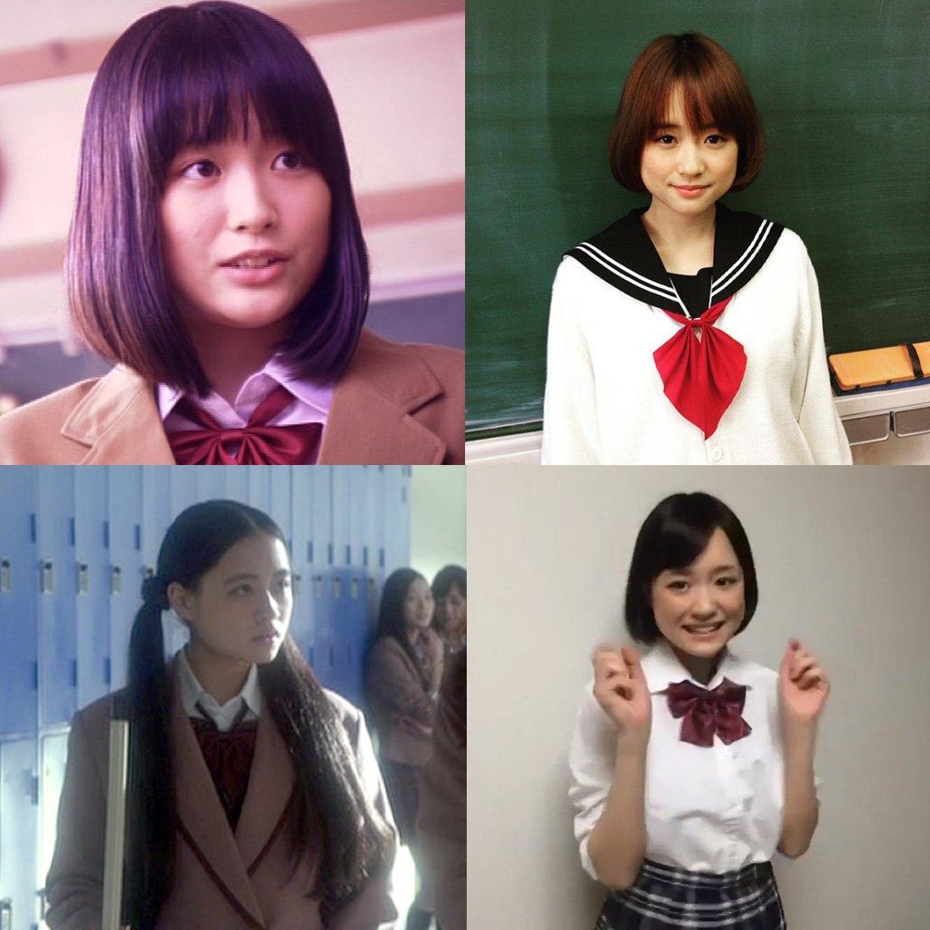 大原櫻子さんの制服コレクション 2012~2017あと10年は女子高校生役OKだと思うので、どんどん増えそうですね#抜け